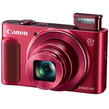 Canon PowerShot SX620HS 25x 25倍 光學變焦 黑/紅/白(12/24期)