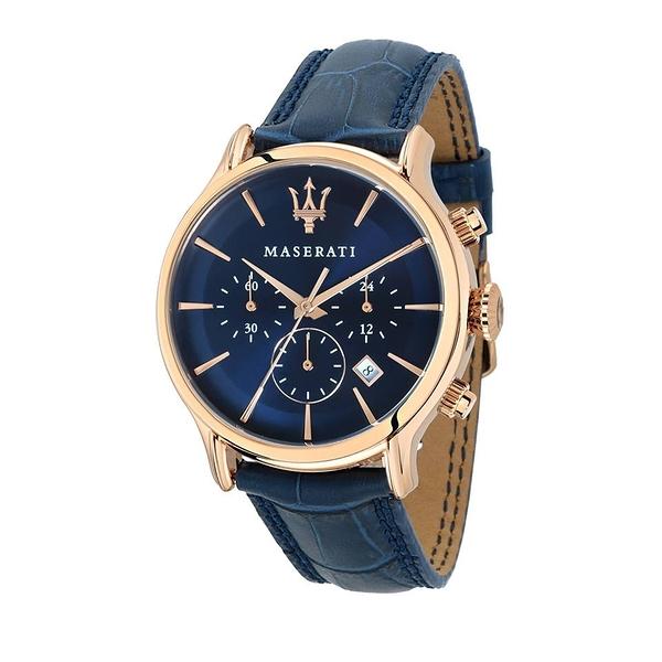 【Maserati 瑪莎拉蒂】/經典三眼錶(男錶 女錶 手錶 Watch)/R8871618007/台灣總代理原廠公司貨兩年保固