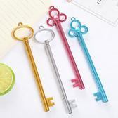 【BlueCat】中古世紀金屬鑰匙造型中性筆 水性筆