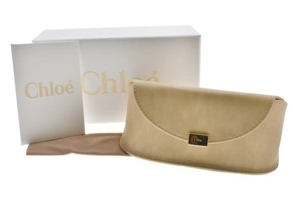 Chloe 太陽眼鏡 CE114SD 769 (淡金-棕鏡片) 仙氣造型大圓框 墨鏡 # 金橘眼鏡
