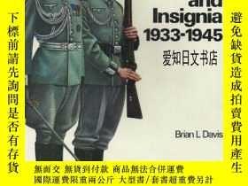 二手書博民逛書店【罕見】German Army Uniforms and Ins