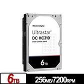 WD Ultrastar DC HC310 6TB 3.5吋 SATA 企業級硬碟 HUS726T6TALE6L4