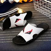 夏季輕便舒適拖鞋 休閒小惡魔潮流涼鞋《印象精品》q119