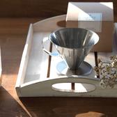 日本製 不鏽鋼 手沖咖啡濾杯 燕三条 L尺寸 4杯以上