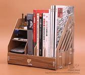 618好康又一發木質文件夾帶抽屜多層大號收納盒