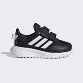 Adidas Tensaur Run I [EG4142] 小童鞋 運動 休閒 慢跑 舒適 緩衝 魔鬼氈 愛迪達 黑 白