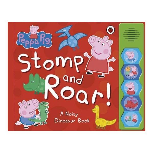 Stomp And Roar 佩佩豬的恐龍公園-精裝硬頁有聲書
