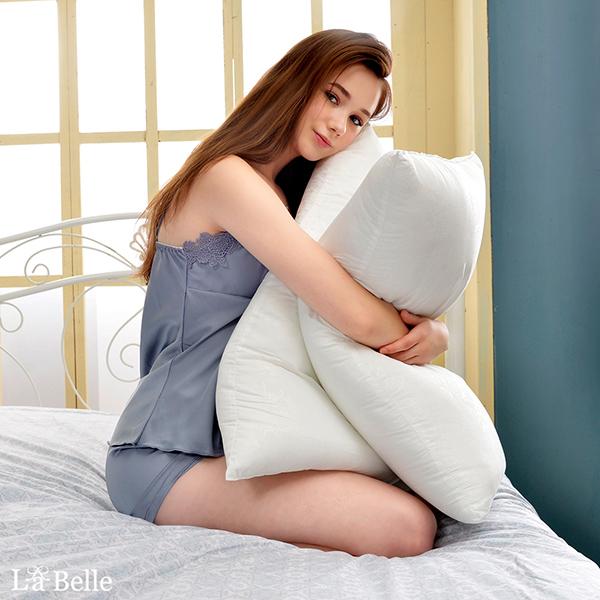 義大利La Belle《超細纖維可水洗抑菌極致舒柔枕》一入