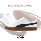 Puma 休閒鞋 S Street Vulc NC GC 白 黑 皮革 男鞋 女鞋 膠底設計 【ACS】 36792801