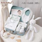 新生的兒寶寶衣服初生嬰兒純棉套裝禮盒送禮高檔用品0-3個月 ATF美好生活家居館
