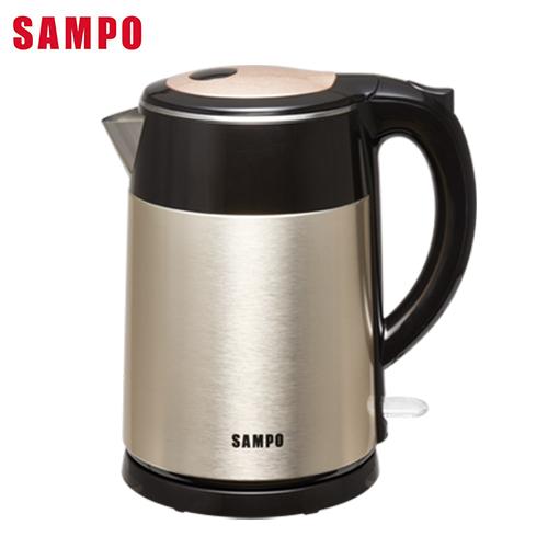 SAMPO聲寶 1.5L不鏽鋼快煮壺KP-SF15D【愛買】