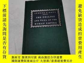 二手書博民逛書店the罕見decline and fall of the Roman empire(4)Y290224 Edw