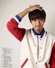 【找到自己】韓國簡約 棒球外套 MA1 軍外套 潮流外套 飛行外套 潮流外套  NMD 配色 撞色 紅