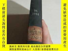 二手書博民逛書店OFFICERS罕見OF THE SOCIETY.86.1944