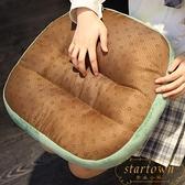 竹席涼席坐墊加厚增高辦公室椅墊防滑涼墊【繁星小鎮】