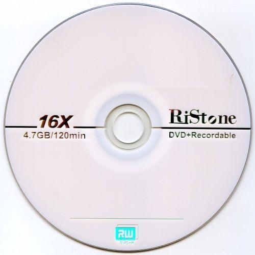 ◆批發價!!免運費◆RiStone 空白光碟片日本版  A+ DVD+R 16X 4.7GB 光碟燒錄片x 600P裸裝