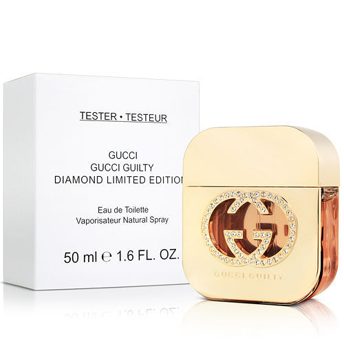Gucci Guilty Diamond 罪愛 鑽石限量版 女性淡香水 50ml TESTER【七三七香水精品坊】