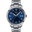 TISSOT天梭 T1164101104700 經典數字 時尚腕錶 藍