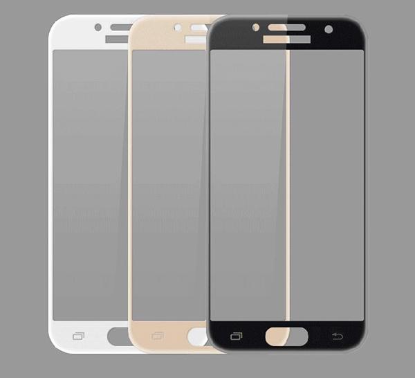 三星 Galaxy 2017版 A7(7) A5(7) 滿版9H鋼化玻璃膜 螢幕保護貼 全屏鋼化膜 全覆蓋保護貼 防爆 (正面)