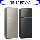Panasonic國際牌【NR-B480TV-A】485公升雙門變頻冰箱星耀黑 優質家電
