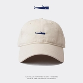 創意男士帽子鴨舌帽ins棒球帽男潮流休閒軟頂日系女白色薄款 陽光好物
