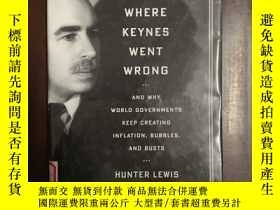 二手書博民逛書店Where罕見Keynes Went Wrong and why