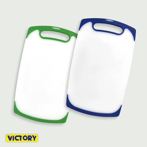 【VICTORY】單孔抗菌彩色砧板#中(2入組)