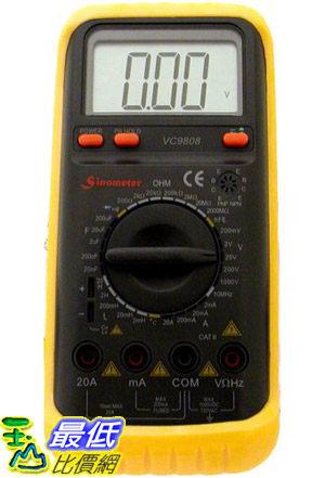 [美國直購 ShopUSA] Sinometer 30-Range Digital Multimeter & LCR Meter, VC9808 $3090