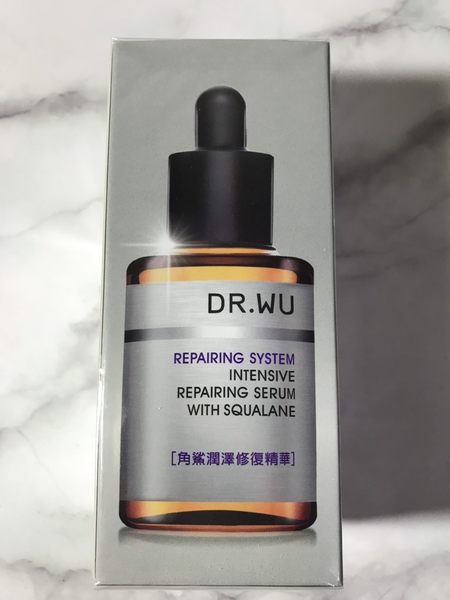 DR WU 角鯊潤澤修復精華30ml 全新封膜 效期2021.06 可集點【淨妍美肌】