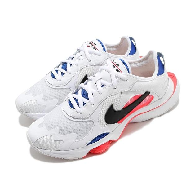 Nike 休閒鞋 Wmns Air Zoom Division 白 黑 藍 女鞋 復古慢跑鞋 氣墊 運動鞋 【ACS】 CK2950-101