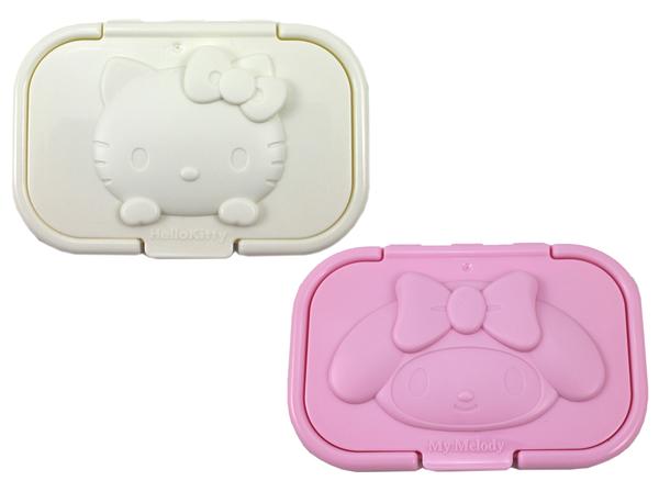 【卡漫城】 三麗鷗 溼紙巾蓋 二款選一 ㊣版 抽取蓋 日版 造型 Hello Kitty 美樂蒂 My Melody 濕紙巾
