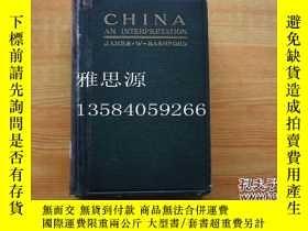 二手書博民逛書店罕見】China: An Interpretation 《中國之