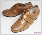 節奏皮件~國標舞鞋女練習鞋編號695 61 古銅