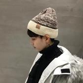保暖帽 帽子男潮秋冬天韓版加絨保暖針織帽男毛線帽男士冬天包頭冷帽潮【快速出貨八折下殺】