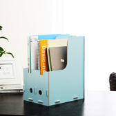 ✭慢思行✭【R05】木質收納盒架 雜誌資料架 韓國DIY創意收納 辦公書架