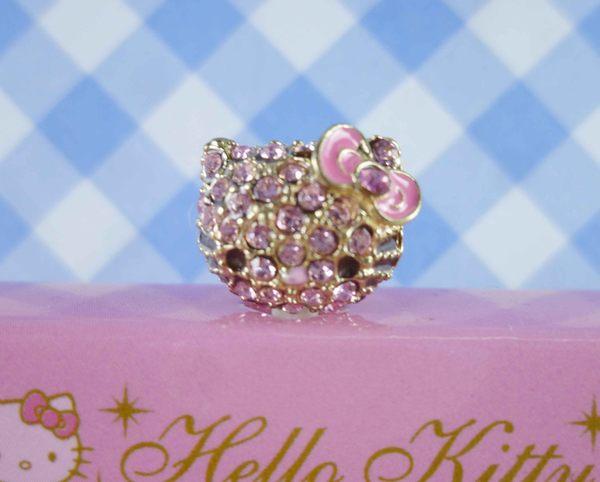 【震撼精品百貨】Hello Kitty 凱蒂貓~KITTY耳機防塵塞-粉鑽頭