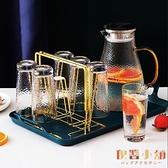 輕奢杯架瀝水家用杯子收納置物架創意托盤玻璃水杯架子【倪醬小舖】