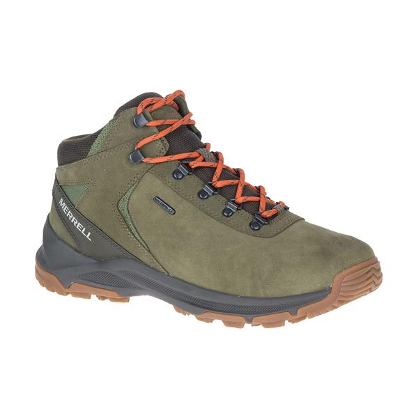 [Merrell] (男) ERIE MID WATERPROOF 健行鞋 橄欖綠 (ML033691)