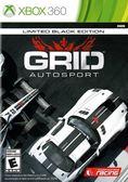 XBOX 360 極速房車賽:競速賽事限定純黑版 -限定純黑版- GRID AutoSport Black Edition