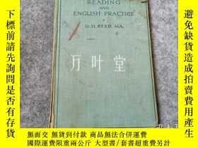 二手書博民逛書店萬葉堂英文原版 reading罕見and english practiceY25771 g.h.reed