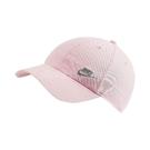 Nike 帽子 NSW H86 Futura Hat 粉 灰 女款 運動休閒 【PUMP306】 AO8662-682