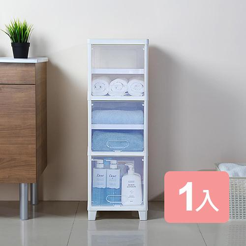 特惠-《真心良品》葛瑞絲6層附門可調式收納櫃