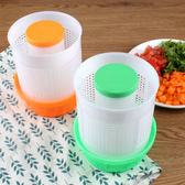 蔬菜甩幹機 脫水器包餃子雲吞菜餡脫水器升級款手壓擠菜器水果沙拉脫水機 2色