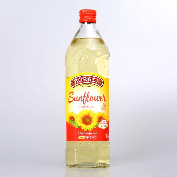 西班牙【BORGES】百格仕葵花油 1L