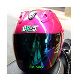 GP-5安全帽,612 素色/桃