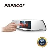 【小樺資訊】含稅 送64G PAPAGO FX760GT 觸控屏 雙鏡 後視鏡型 GPS測速 行車記錄器 倒車顯影