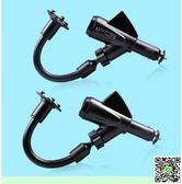 支架 汽車手機支架雙USB車載車充點煙器車載手機支架導航支架手機座子 阿薩部落
