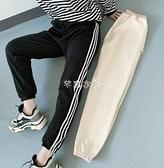 哈倫褲 新款羊羔絨運動褲女學生韓版寬松顯瘦衛褲女休閒褲褲 快速出貨