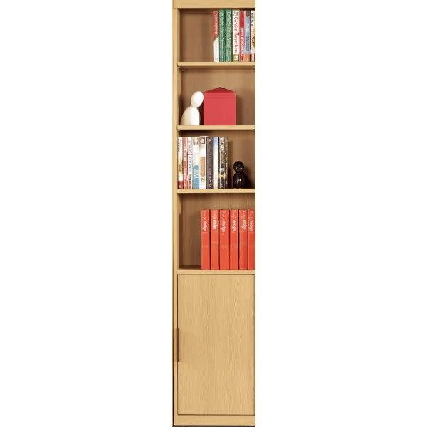 書櫃 書櫥 MK-374-2 達拉斯1.3尺一門書櫥【大眾家居舘】