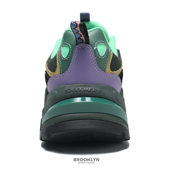 SKECHERS 休閒鞋 ONE PIECE 航海王 聯名款 索隆 STAMINA V2 老爹鞋 女 (布魯克林) 896034BKMT